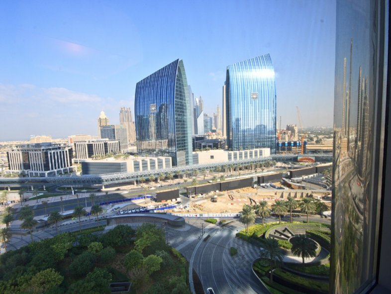Furnished one bedroom Apartment in Armani Residences