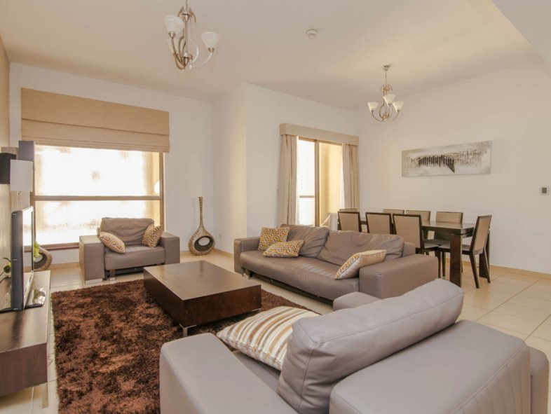 Furnished Apartment in Shams JBR next to the beach