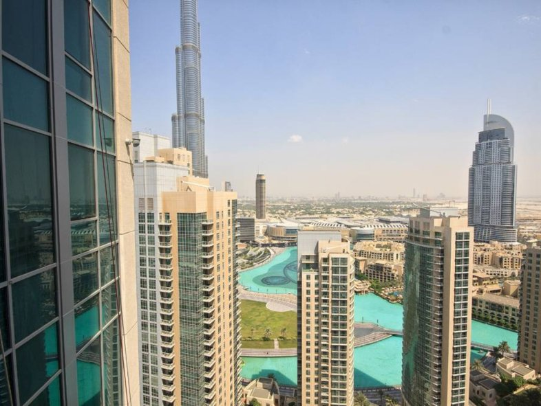 Amazing apartment views in 29 Boulevard, Downtown Dubai