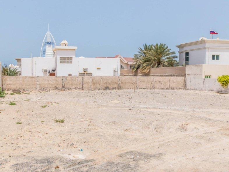 Unavailable Plot in Umm Suqeim, Jumeirah