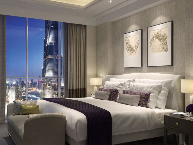 Unavailable Serviced apartment in The Address Residence The Blvd, Downtown Dubai