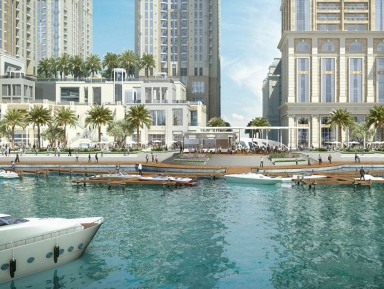 Amazing Apartment on the Water Canal in Al Habtoor City