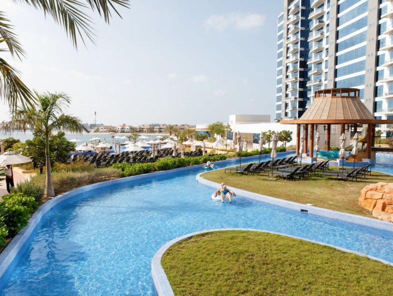 Fully furnished Oceana 2 bedroom+study - Atlantis views