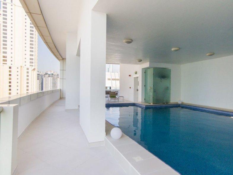 Miami style penthouse with private pool in Dubai Marina