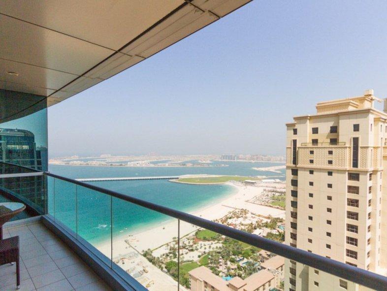 Unavailable Serviced apartment in Al Fattan Tower, The Walk, Jumeirah Beach Residence