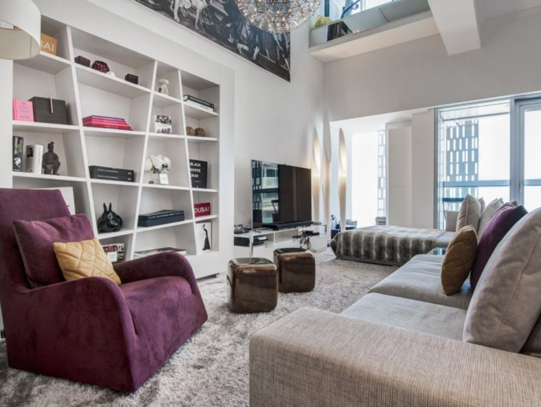 One of a kind I fully upgraded 3BR Duplex in Cayan Tower