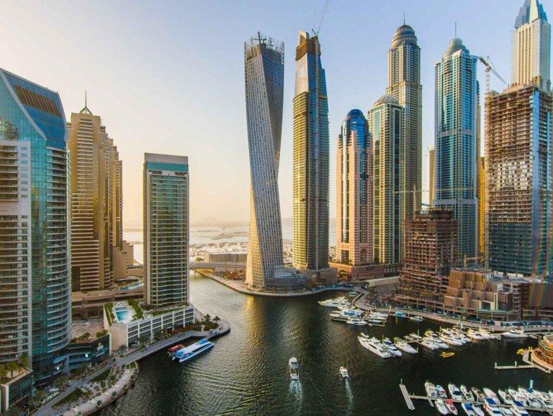 The most stunning triplex penthouse in Dubai Marina