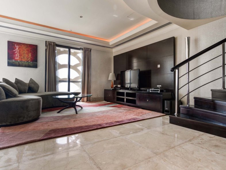 Spacious Furnished Penthouse with Full Sea View in JBR