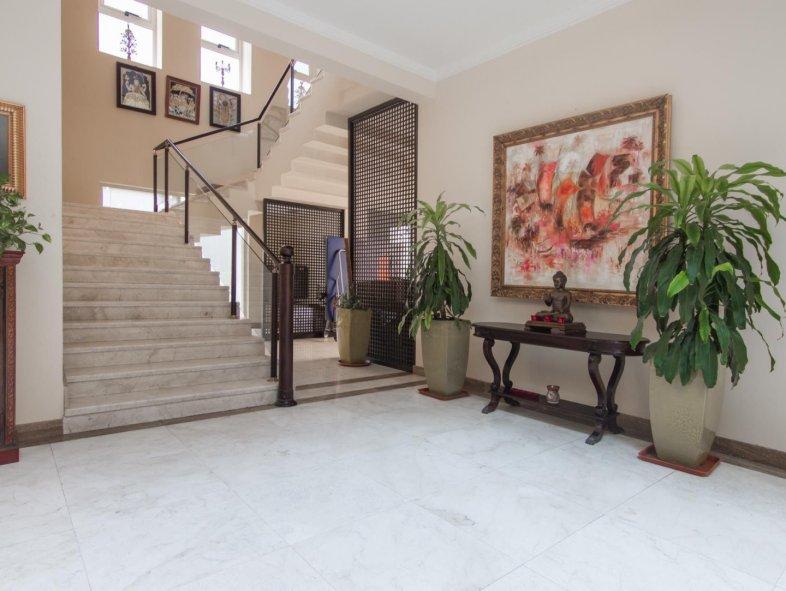Lake view Vastu compliant villa at Emirates Hills