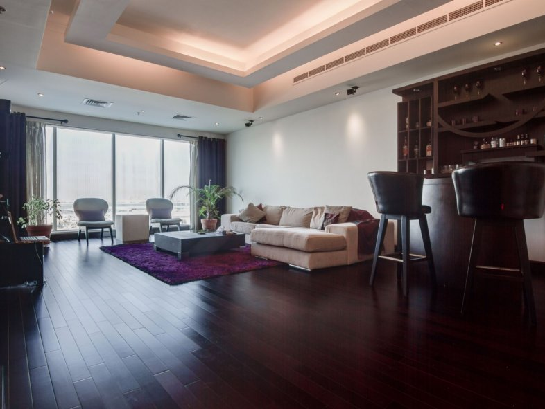 Upgraded spacious two bedroom flat in Emirates Crown