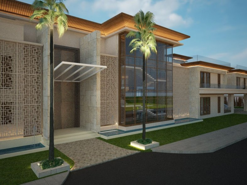 Exclusive Private Mansion Villa in the Palm Jumeirah