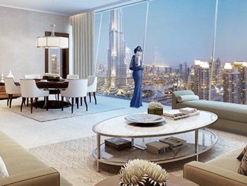 Burj Vista T1 - 3 Bedroom Full Burj Khalifa View