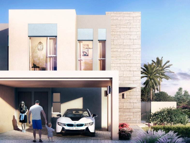 Unavailable Attached townhouse in Saffron, Emaar South