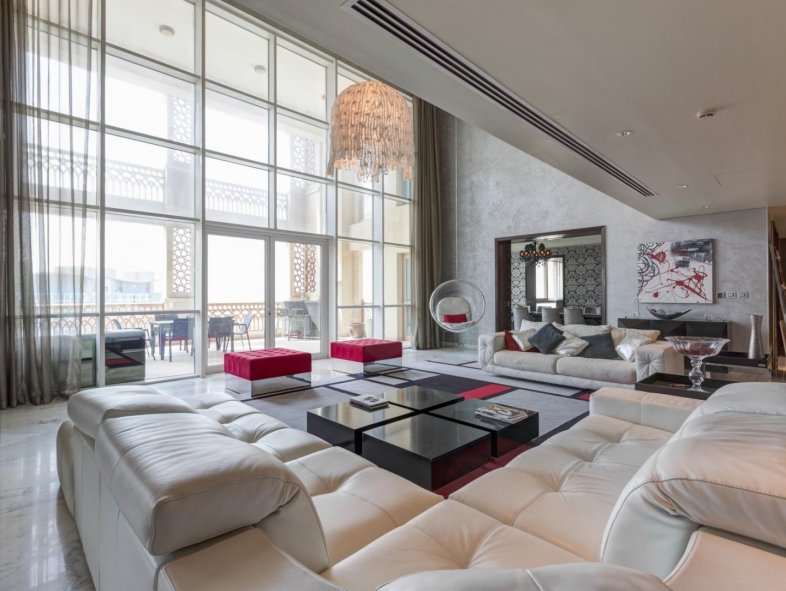 Lovely furnished penthouse with Atlantis view