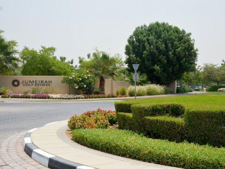 Park Facing Plot in Wildflower at Jumeirah Golf Estates