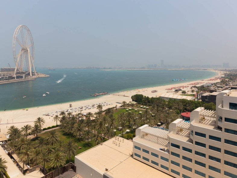 1 Bedroom with Stunning Full Sea/JBR and Palm Views