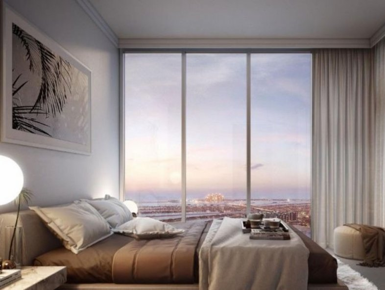 Full Palm Jumeirah and sea view in Beachfront