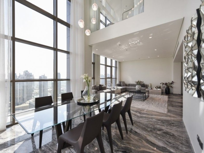 Brand New Unique Duplex Penthouse in Dubai Marina