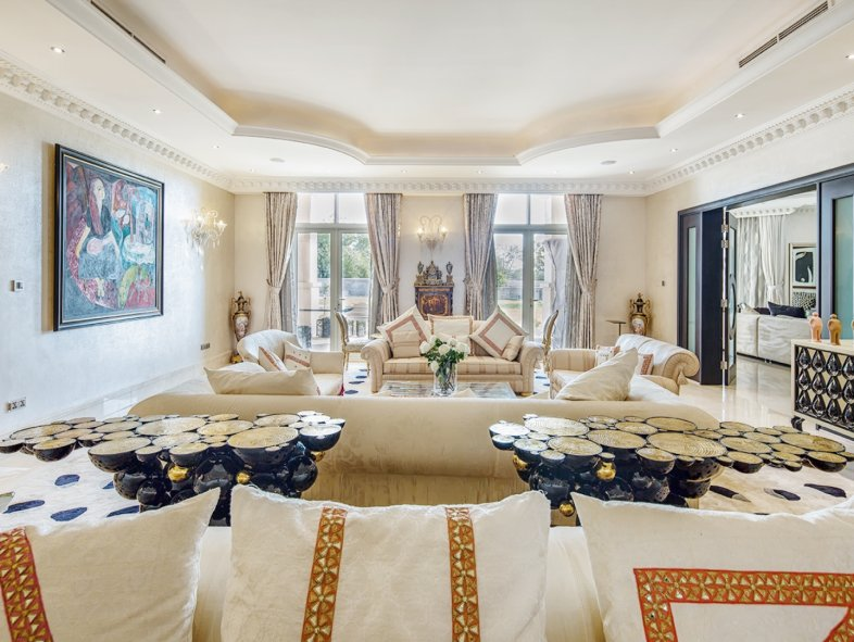 Remarkable Full Golf Course Villa in Emirates Hills