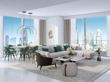 Spacious 3-bed apartment in Grande, Burj Khalifa view