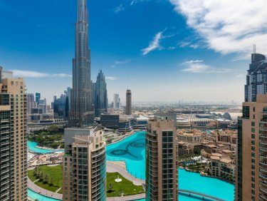 Huge 2 BR Apartment | Full Burj Khalifa View