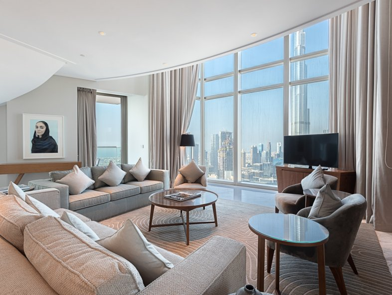 Unavailable Penthouse in Vida Residence , Downtown Dubai