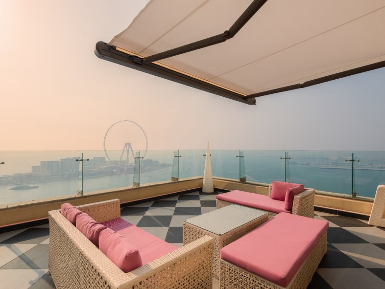 Penthouse available for sale in Rimal, Jumeirah Beach Residence