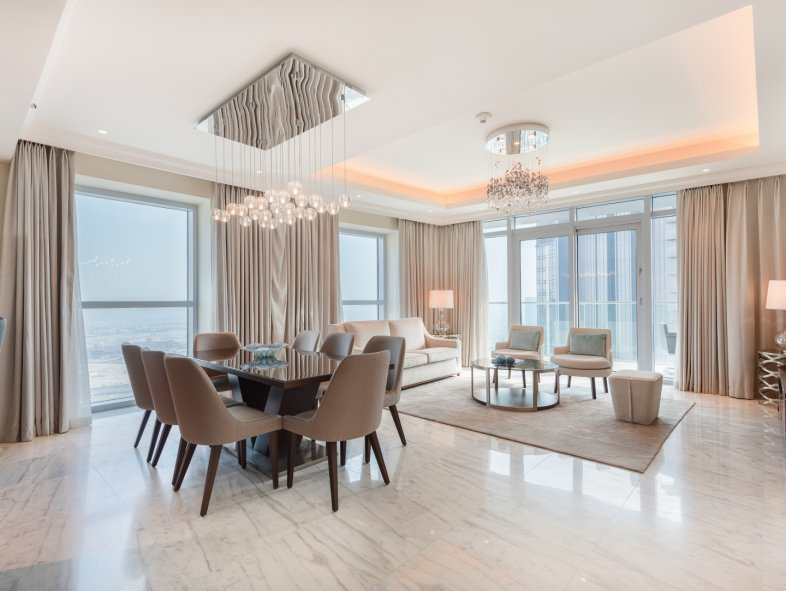 Unavailable Penthouse in The Address Residence Fountain Views, Downtown Dubai