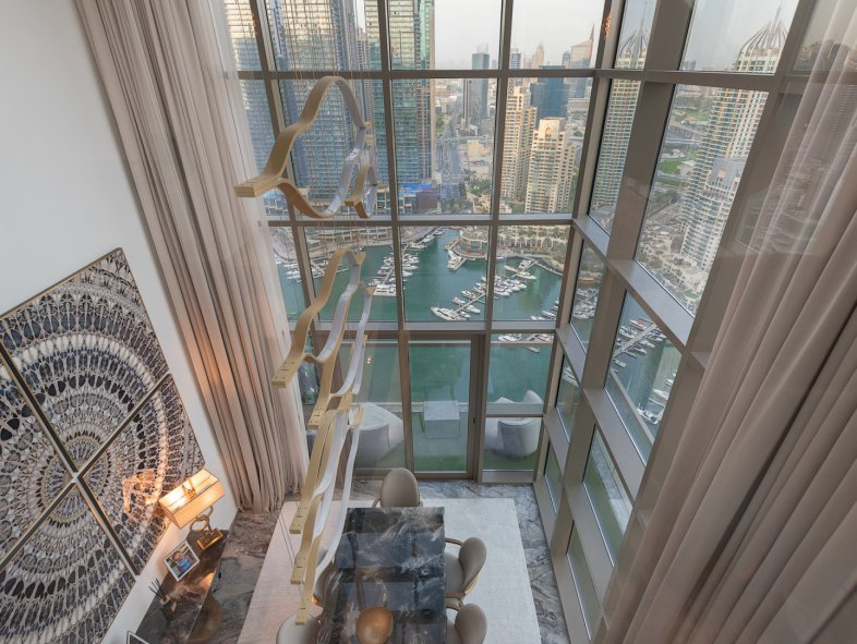 Penthouse available for sale in No.9 Tower, Dubai Marina
