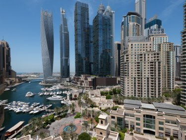 Upgraded Emaar penthouse in Dubai Marina
