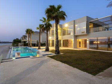 Exclusive Modern Sunset Palm Mansion