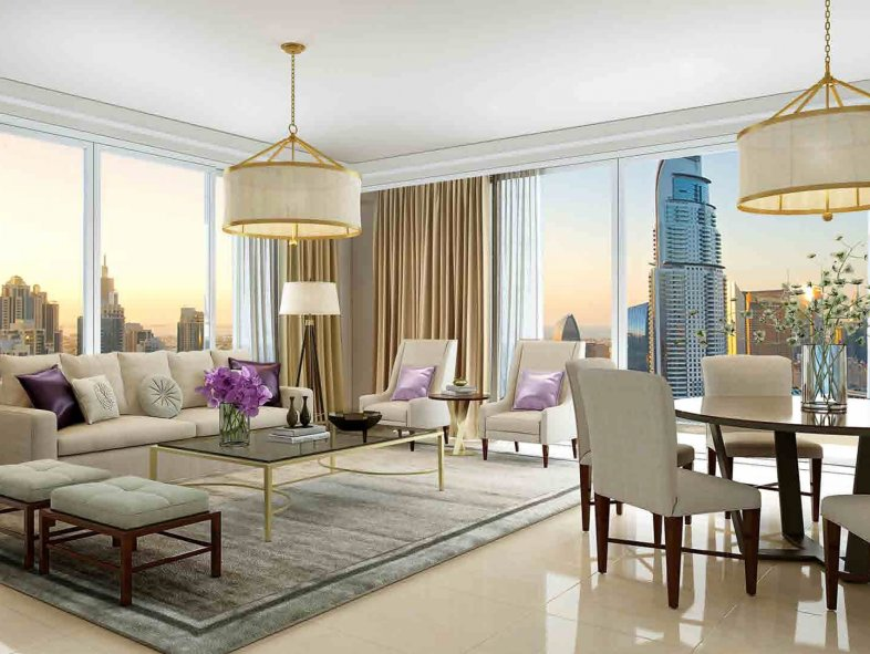 Apartment available for sale in Boulevard Point , Downtown Dubai