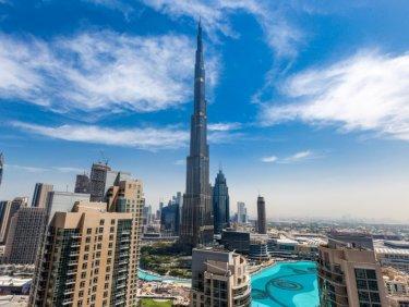 Huge 2 Bedrooms Full Burj Khalifa View.