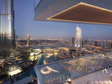 High, luxury apartment in Downtown Dubai