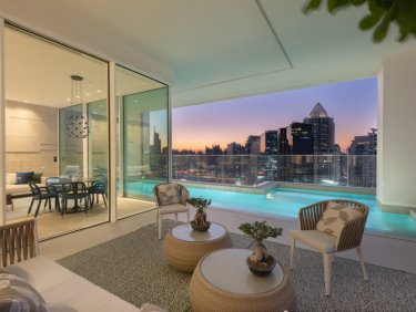 Banyan Tree Residences luxurious 360 degree view furnished  penthouse with private pool