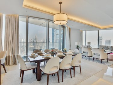 Exclusive | 4 Bed Burj View | Vacant