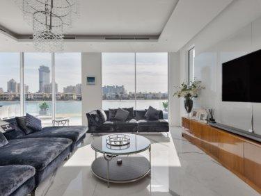 Exclusive Luxury beachfront villa on Palm Jumeirah
