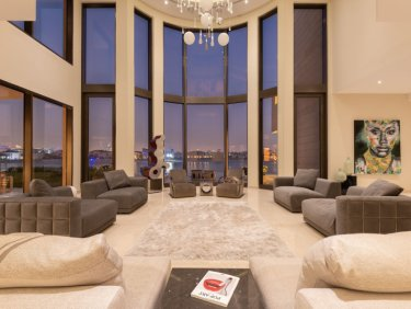 Super Luxury Custom Waterfront Mansion