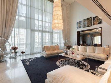 Stunning Marina Residences Penthouse with Burj Al Arab Views