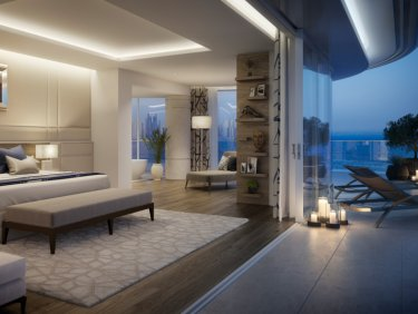Grand luxury serviced hotel residence on Palm Jumeirah