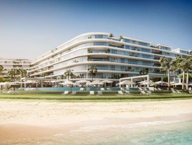 Beachfront serviced hotel residence on Palm Jumeirah