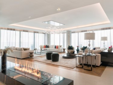 Waterfront serviced residence on Palm Jumeirah