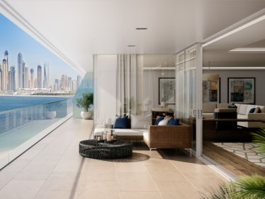 Beachfront luxury apartment on Palm Jumeirah