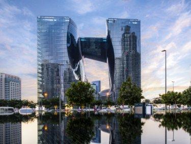 Luxury apartment in Downtown Dubai designed by Zaha Hadid