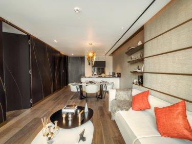 Luxury Downtown Dubai apartment in Zaha Hadid designed Residence