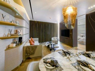 Burj Khalifa view luxury serviced apartment in Downtown Dubai