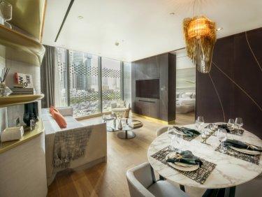 Sea view serviced apartment in Zaha Hadid Downtown Dubai Residence
