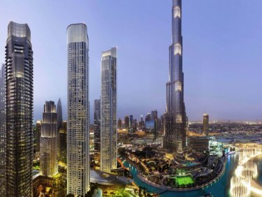 Decadent luxury apartment in Downtown Dubai