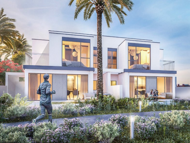 Attached townhouse available for sale in Maple 1, Dubai Hills