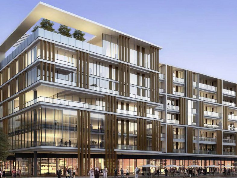 Apartment available for sale in Building 13b, Al Mustaqbal Street, City Walk